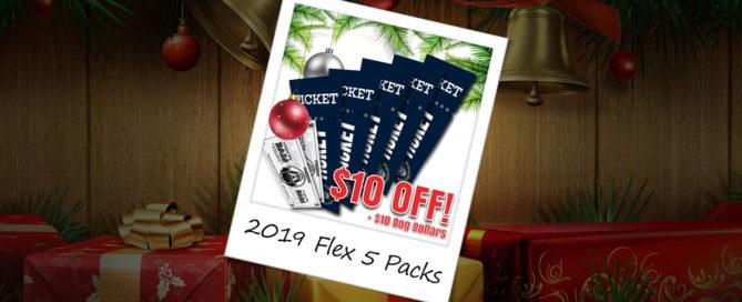 2019 Flex 5 Packs - On Sale